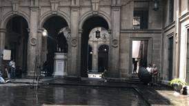 Palacio Nacional se pone 'hollywoodense': Filman película de expropiación petrolera (con 'ok' de AMLO)