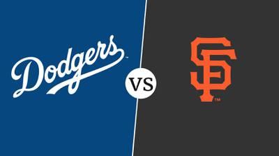 ¿Dónde y cuándo ver el partido entre Dodgers vs. Giants?