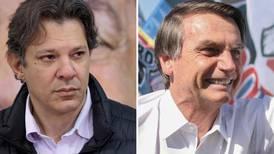 Estos son los dos finalistas en la carrera por la presidencia de Brasil