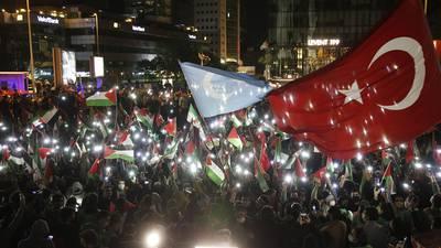 Israel merece que 'le den una lección': Erdogan pide a Putin enviar una fuerza para proteger a palestinos