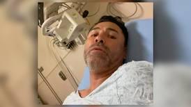 Óscar De la Hoya es hospitalizado por COVID: 'volveré al ring este mismo año'