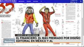El Financiero, el diario más premiado por diseño editorial en México y AL