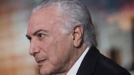Expresidente brasileño Temer es puesto en libertad tras una semana en la cárcel