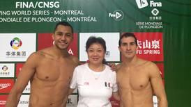 Rommel Pacheco y Jahir Ocampo se cuelgan la plata en Canadá