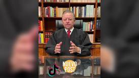 De ministro presidente a, ¿influencer? Arturo Zaldívar saca cuenta en TikTok