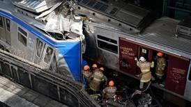 Nueve heridos en choque de trenes en Brasil