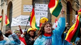 OEA llama a la pacificación y rechaza 'cualquier salida inconstitucional' en Bolivia