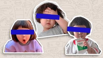 Padres de la 'niña coreana' podrían demandar por uso de memes y stickers –  El Financiero