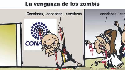 La venganza de los zombis