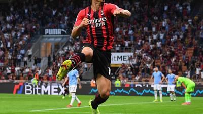 ¡Histórico! Zlatan regresa con gol y se convierte en el extranjero más veterano en marcar en Serie A