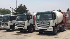 Entrega Foton camiones a la constructora ICA