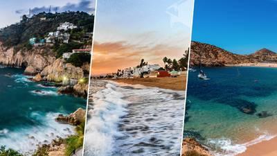 Cambio climático amenaza con 'comerse' las playas de Acapulco, Cabo San Lucas, etc., etc...