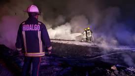 Controlan incendio en toma clandestina en Tetepango, Hidalgo