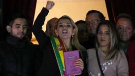 Jeanine Áñez, presidenta interina de Bolivia, da positivo a coronavirus