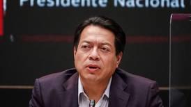PRD presenta queja contra Morena por promoción anticipada de revocación de mandato
