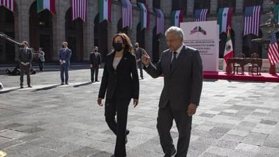 Reunión con Kamala Harris fue tan buena que le dije presidente, explica AMLO