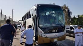Explosión de autobús cerca de pirámides de Giza deja 17 heridos