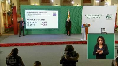 Adultos mayores de zonas remotas tendrán prioridad en vacunación contra COVID: López-Gatell