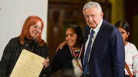 Activista indígena Obtilia Eugenio obtiene Premio Nacional de Derechos Humanos