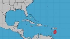 Tormenta tropical 'Kirk' azotará las Antillas Menores