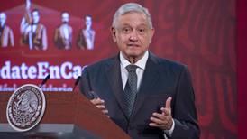 AMLO propone dar 'banderazo' de inicio de obras del Tren Maya por teleconferencia