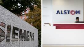 UE rechaza la propuesta de fusión de Siemens y Alstom