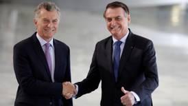 Hacen Macri y Bolsonaro una alianza contra Nicolás Maduro
