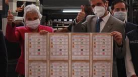 'El árbitro es neutral o no es árbitro': Sánchez Cordero en el inicio de impresión de las boletas electorales