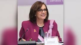 Senadora Malú Micher aclara incidente en Zoom durante reunión de trabajo