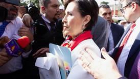 Rosario Robles recibe revés sobre spot de Morena