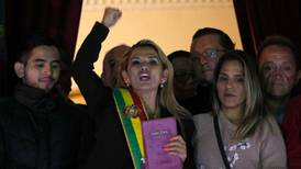 Jeanine Áñez anuncia que buscará la presidencia de Bolivia en elecciones de mayo
