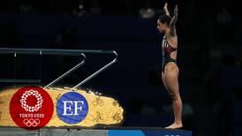 'Di mi máximo hasta el último clavado', dice Gaby Agúndez tras cuarto lugar en plataforma 10 metros