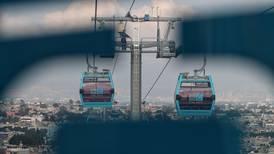 Sismo en la CDMX: Usuarios quedan atrapados en cabinas del Cablebús