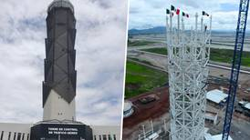 Torre de control de Santa Lucía: ¿es segura con todo e inclinación?