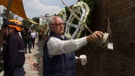 19-S: familiares recuerdan a víctimas del Colegio Rébsamen