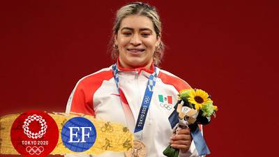 ¡Bronce para México! Aremi Fuentes gana medalla en halterofilia en Tokio 2020