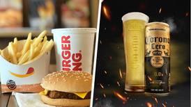 La próxima vez que visites Burger King podrás cambiar tu refresco por una 'chelita'