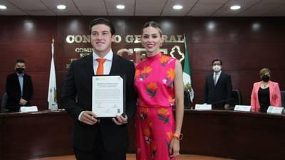 INE multa a Samuel García y MC por aportaciones indebidas de Mariana Rodríguez