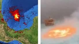 'Fuego en el mar': el mundo anda hablando de México... y no de una buena forma