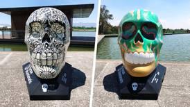 ¡De lujo! 'Mexicráneos' invaden el Parque Bicentenario de la CDMX