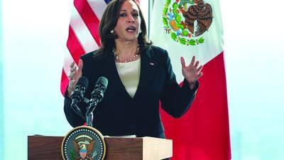 Kamala Harris externó a AMLO preocupación por la corrupción en México: EFE
