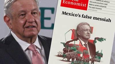 'Así nos ven desde el exterior': Estas son las reacciones a la portada de The Economist sobre AMLO