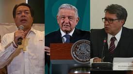 Cisma en Morena: AMLO pide encuesta; Monreal insiste en elección interna