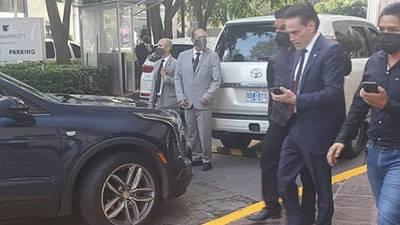 Detienen al empresario Alejandro del Valle, mayor accionista de Interjet, en el Club de Industriales