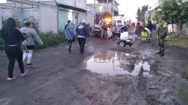 Controlan fuga de gas en ducto de Pemex en Tezoyuca, Estado de México