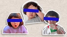 Padres de la 'niña coreana' podrían demandar por uso de memes y stickers