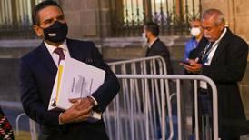 Aureoles regresa a Palacio Nacional; busca recursos para pagarle a maestros