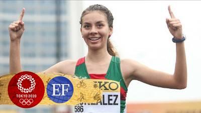 ¡Sobresaliente! Alegna González, cerca de medalla; termina quinta en marcha de Tokio 2020