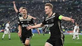 Ajax deja a la Juventus de Cristiano Ronaldo fuera de la Champions