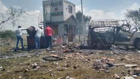 Al menos 2 muertos deja explosión de polvorín en Zumpango, Estado de México